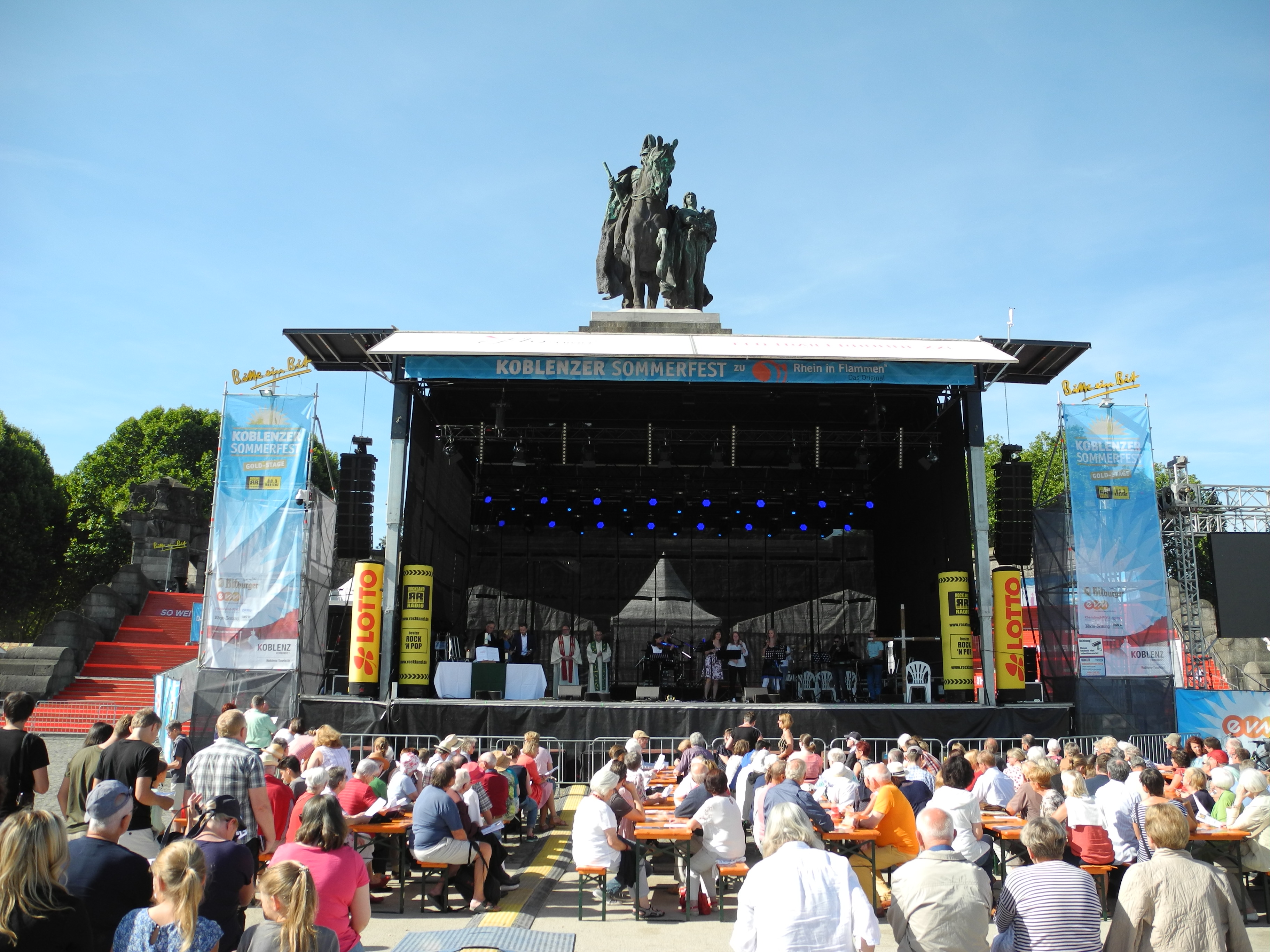Ökumenischer Gottesdienst zum Koblenzer Sommerfest 2019